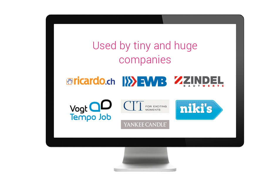 Used by tiny and huge companies