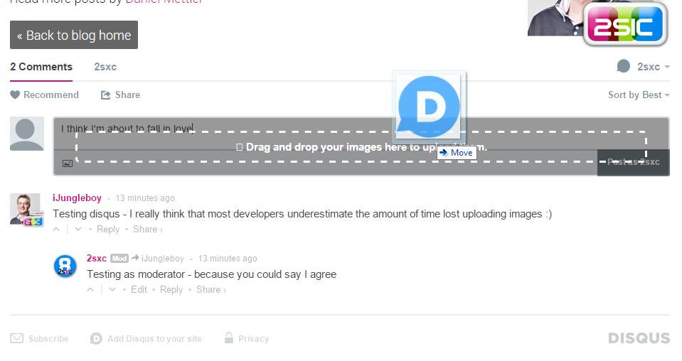 disqus for DNN - App for DNN (DotNetNuke) and 2sxc