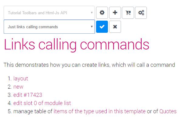 Tutorial for the JavaScript APIs and Custom Toolbars - App
