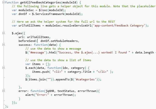 Tutorial - JavaScript - REST API using jQuery and AngularJS