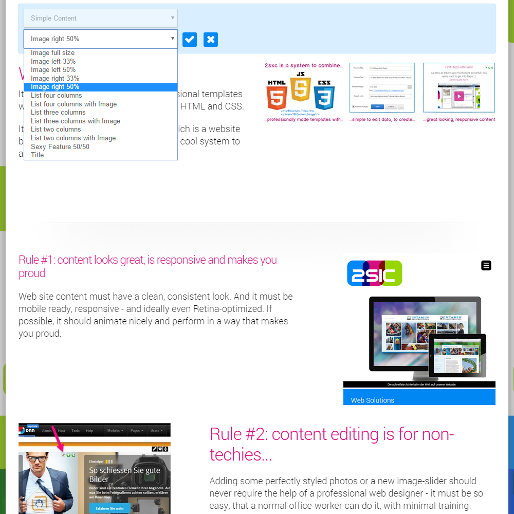 DNN Store > Home > Product Details > 2sxc CMS & apps v8.12 free ...