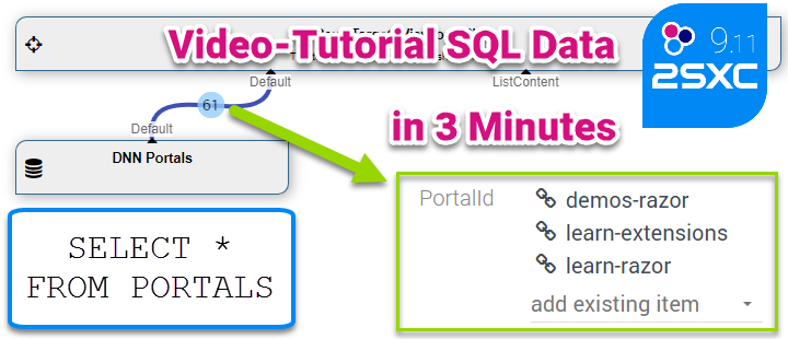 Tutorial: Use SQL data in a dropdown and allow multi-select (video)
