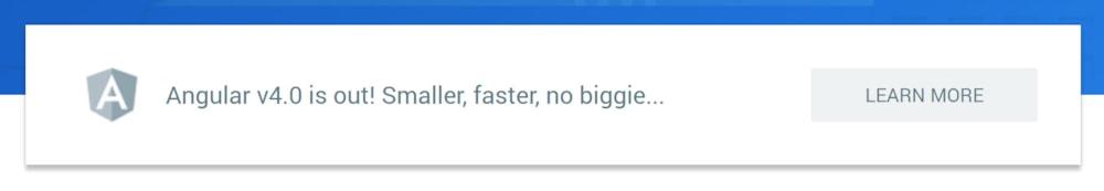 Welcome Angular 4! And Angular CLI, AOT and Universal! > DNN