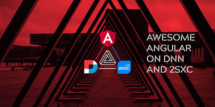 Awesome Angular 11 in DNN and 2sxc (DNN Summit 2021 Session)