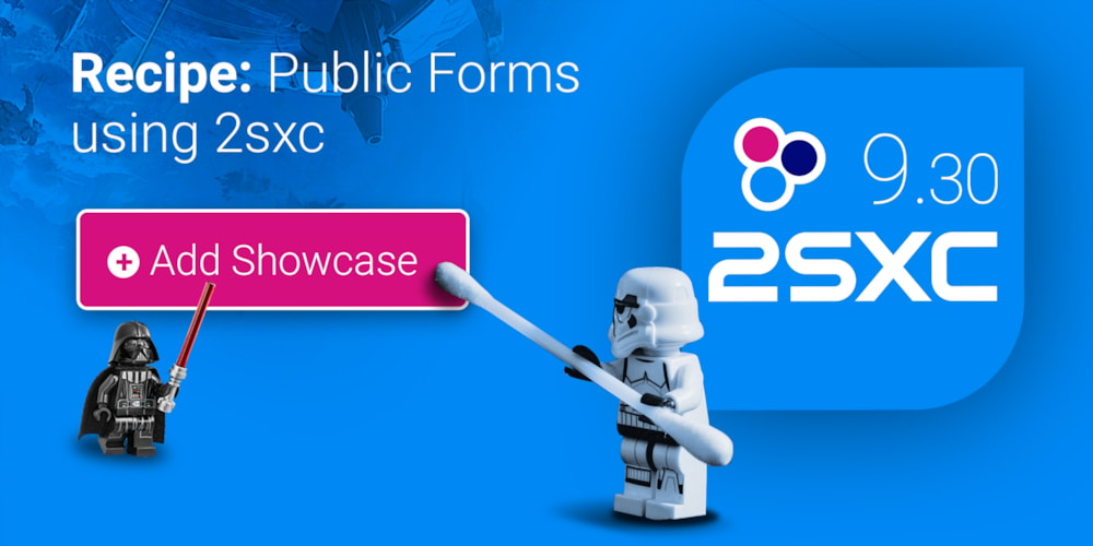 recipe create public forms with 2sxc