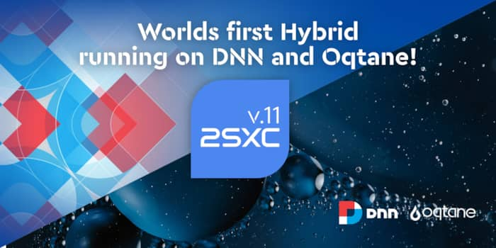 2sxc - The First Hybrid Dnn / Oqtane Module running on Blazor (PoC)