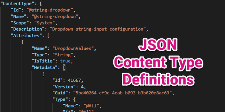Deep Dive: JSON Content-Type Definitions