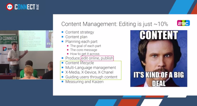 Video DNN-Connect: Amazing Content Management using 2sxc