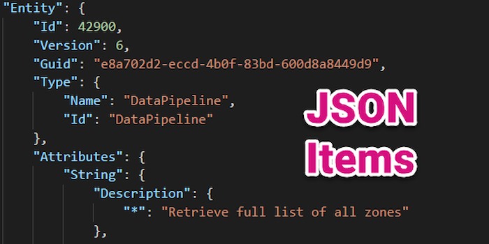 Deep Dive: JSON Stored Content-Items (Entities)