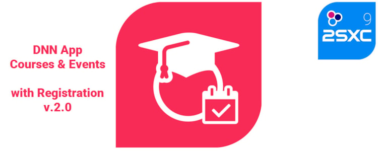 New App: Courses / Events with Registration