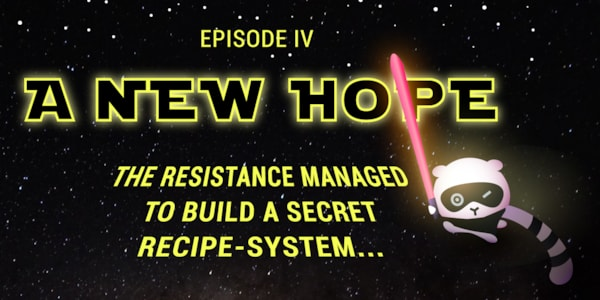 Episode IV: A New Hope - May the 4th be with you