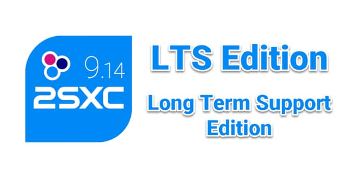 Special Edition 2sxc 9.14 LTS (long term support)