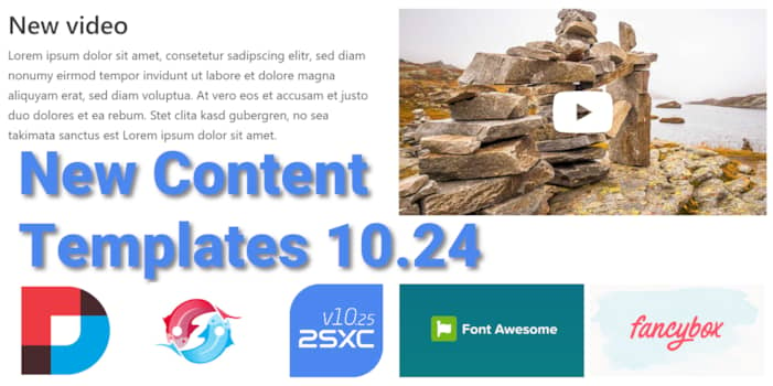 Content Templates 10.24 Massively Improved